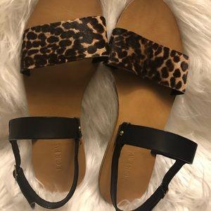 J. Crew Gorgeous leather sandals